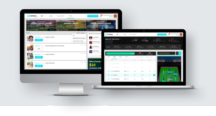 Scalable and Robust – White Label Daily Fantasy Sports Software Design and Development by Vinfotech