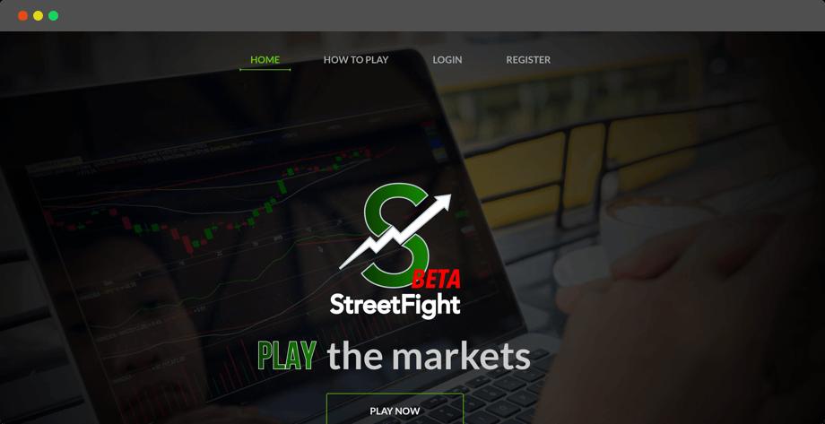 Streetfight – A fantasy stock market software developed by Vinfotech