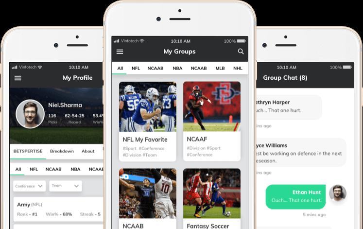 Betspert online fantasy sports betting platform by vinfotech