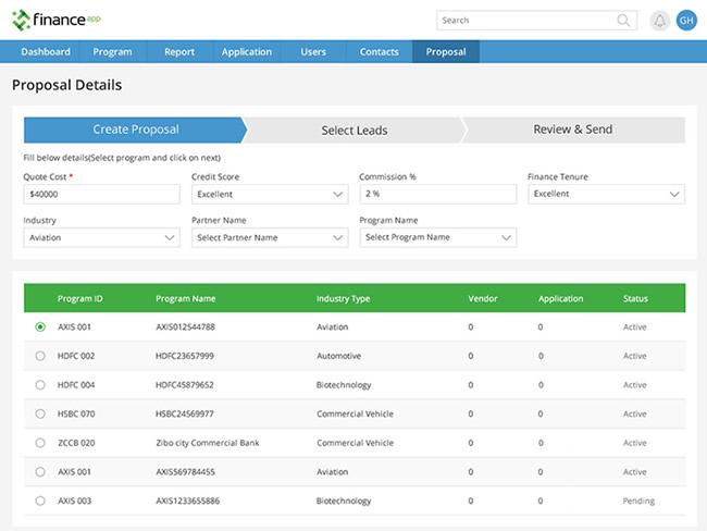 Customized Finance App Development