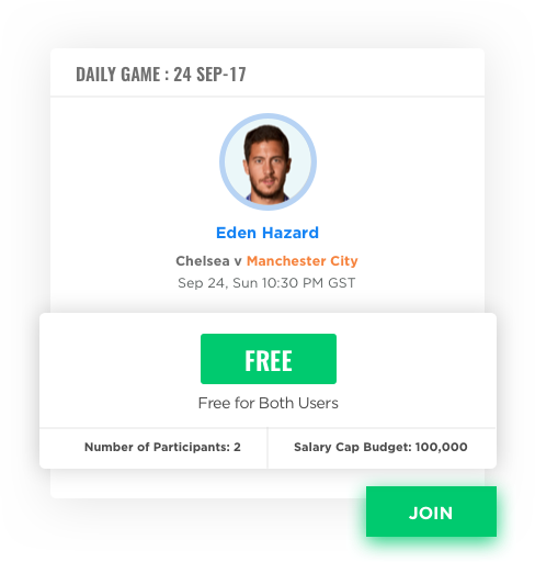 daily fantasy sports software with free to play games by Vinfotech