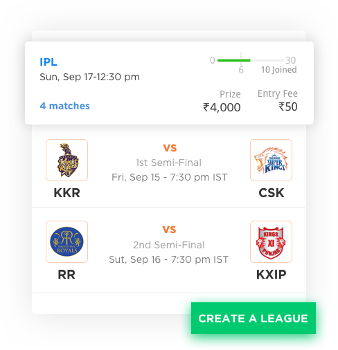daily fantasy sports software with multiple sports by Vinfotech