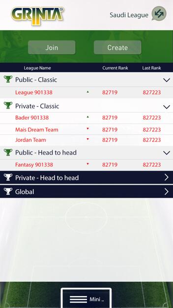 Egyptian League Fantasy Football Web design and Development by Vinfotech