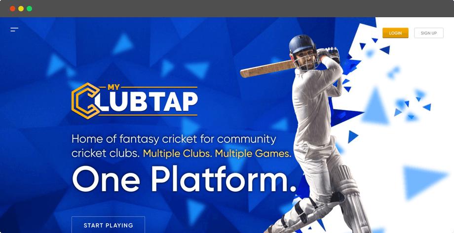 Fantasy Cricket League Web Design for Australian by Vinfotech