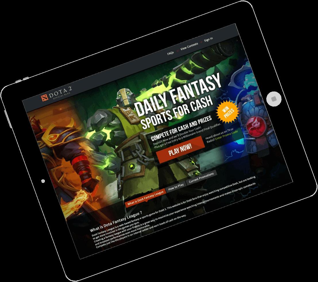 fantasy eSports website & app development by Vinfotech