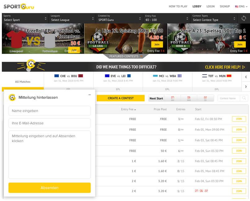 Fantasy Football League Development for Europe by Vinfotech