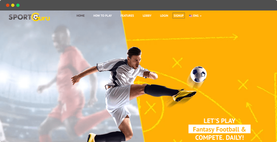 Fantasy Football Software for European Fans by Vinfotech
