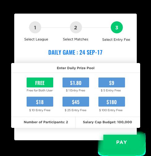 fantasy sports mobile app development free & paid games by Vinfotech
