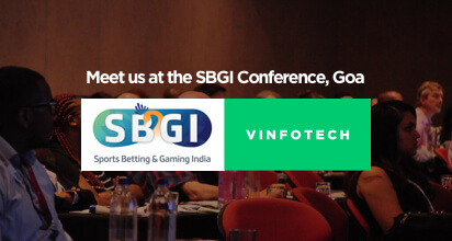 Fantasy sports software showcase at SBGI Goa by Vinfotech