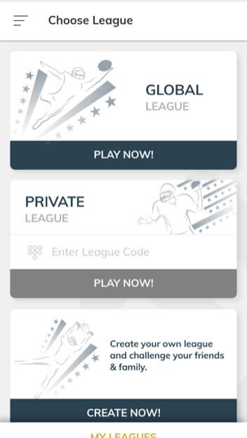 fanview create private league