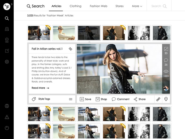 Fashion Social Network Design