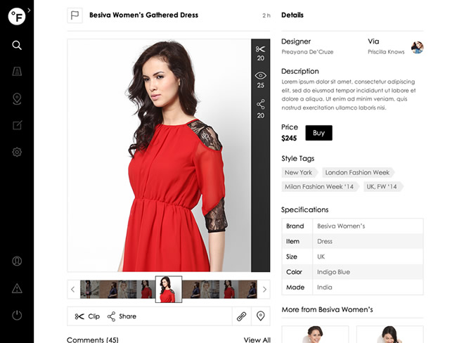Fashion Social Networking Development