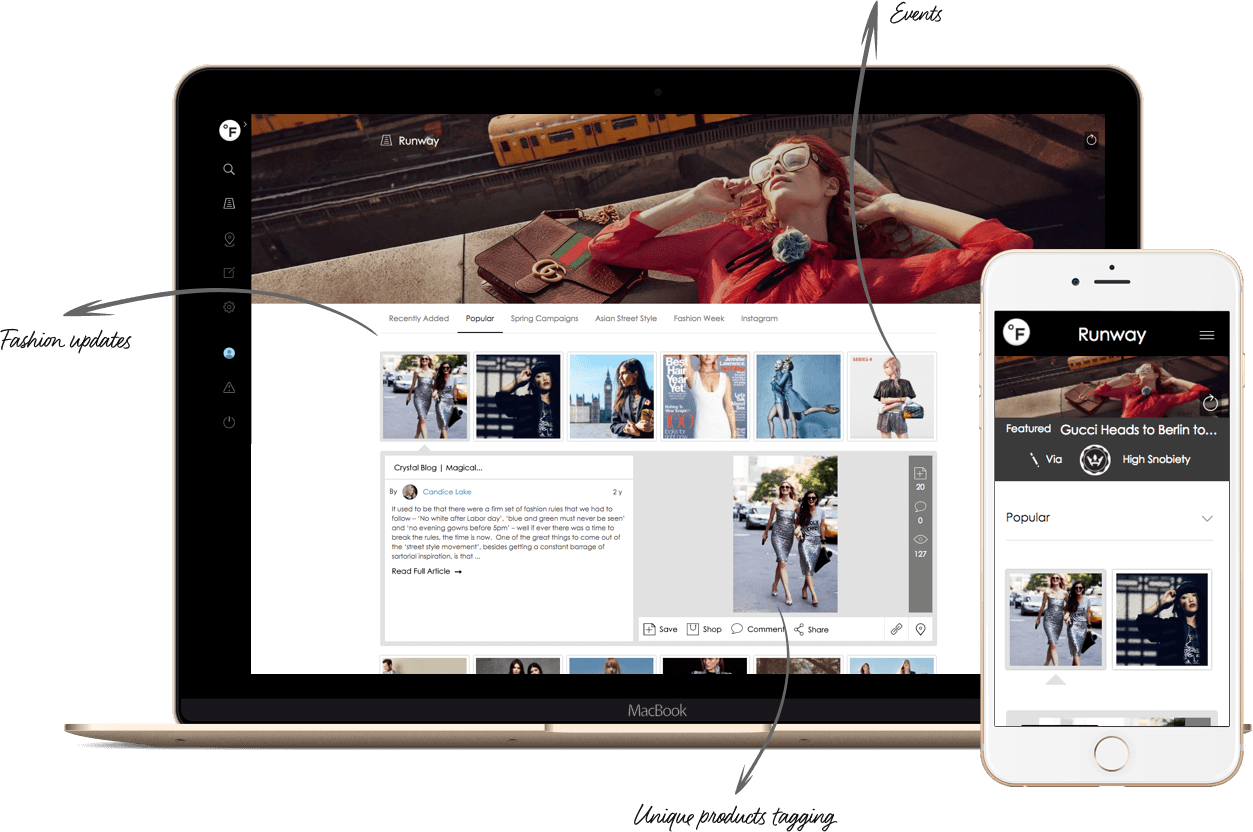 Fashion Social Network Development