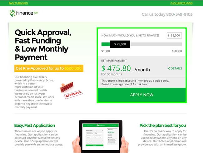 Finance Application Design
