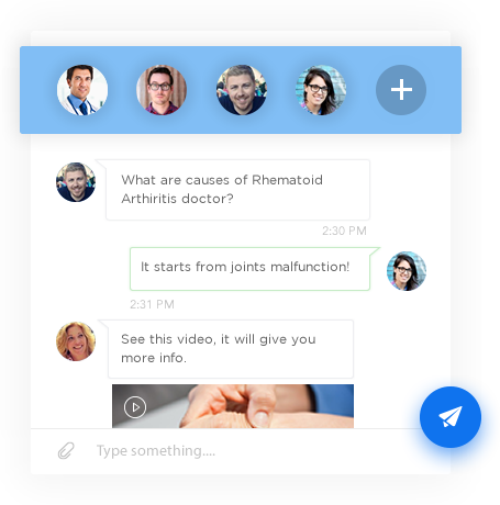 Group Text & Chat – Social Media Application Development Software by Vinfotech