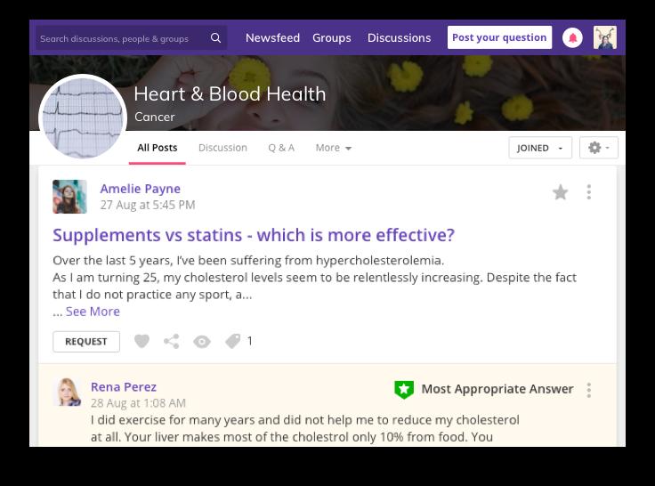 Strengthen Patient Support – Healthcare communities by Vinfotech