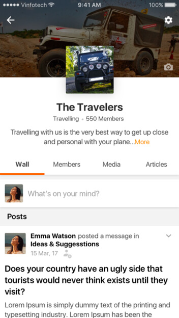 interest groups for road trippers