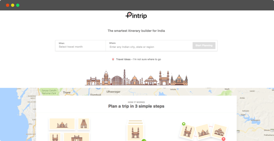 Location-Based Travel Tool for Building Itinerary