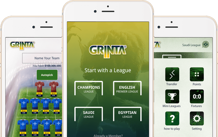 Season long fantasy football iPhone and android app by Vinfotech