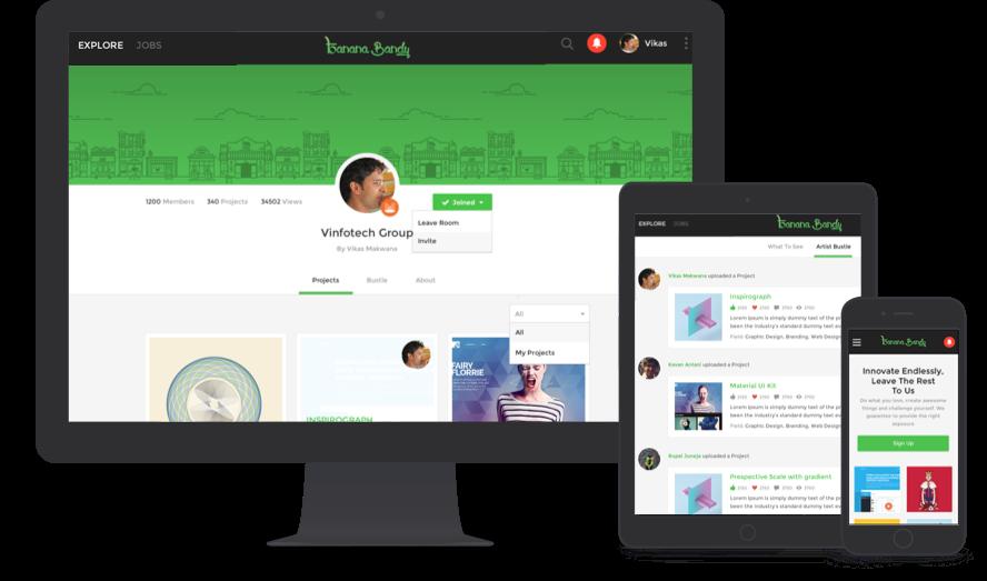 startup Social Network by Vinfotech