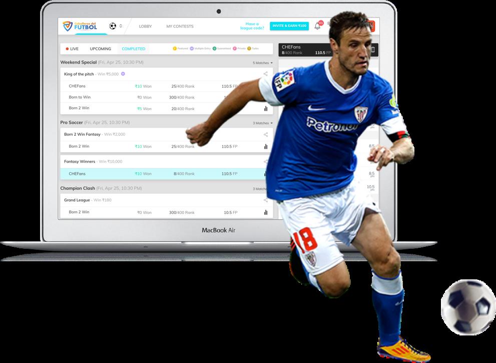 Football knights daily fantasy football platform by vinfotech