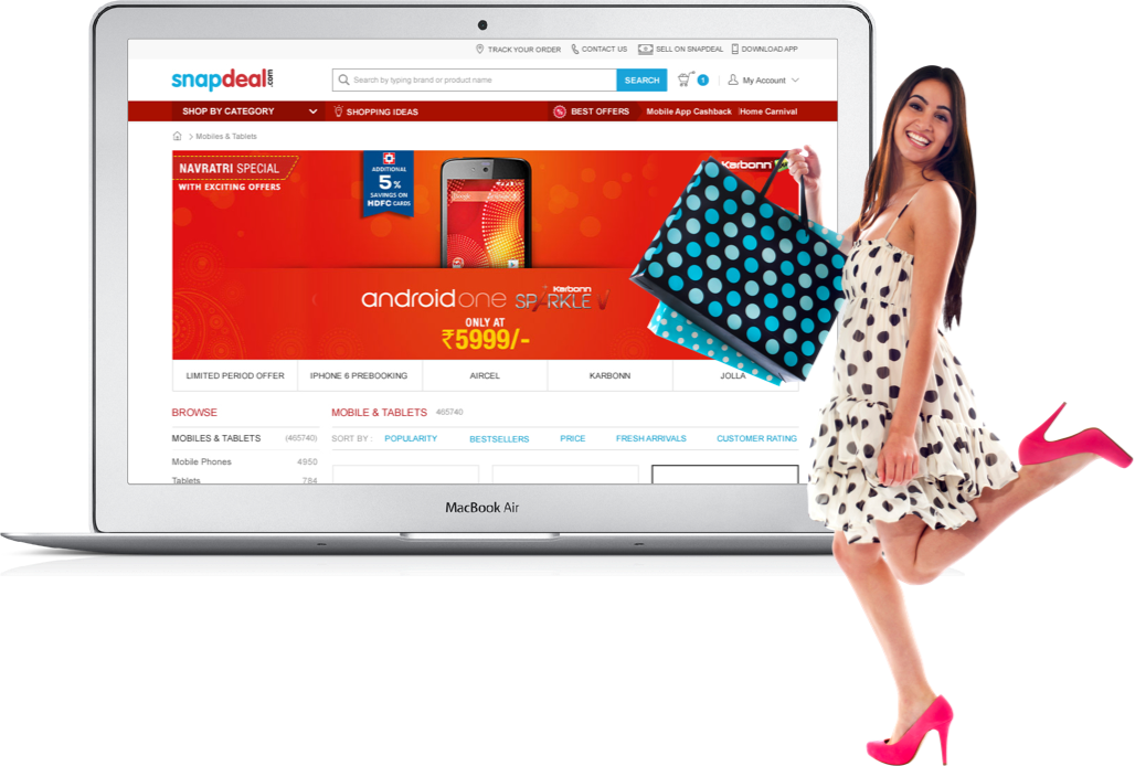 How we re-imagined the checkout flow of Snapdeal by Vinfotech