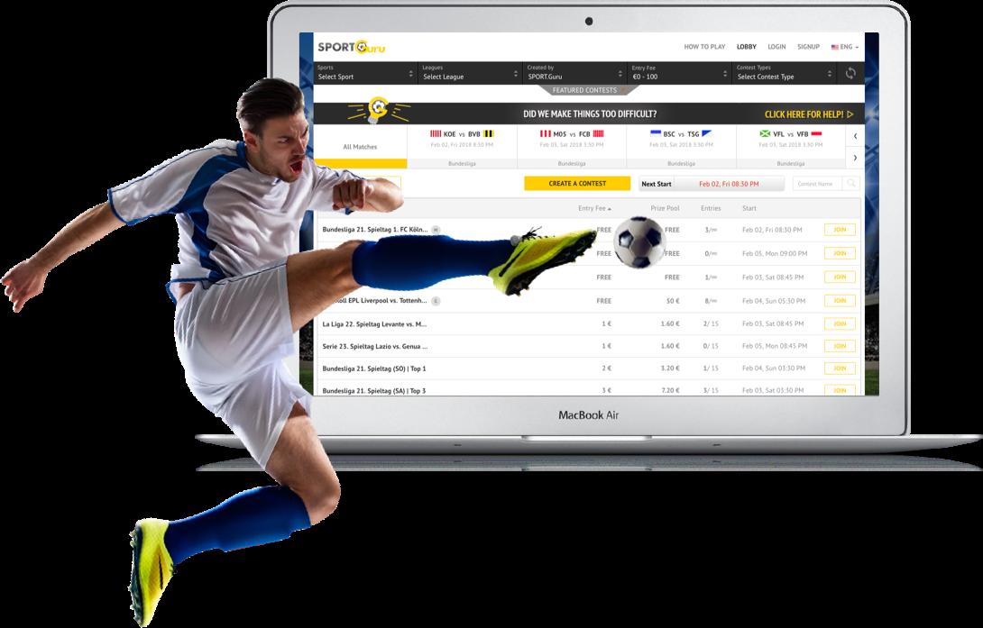 European-Fantasy Football Website Development by Vinfotech
