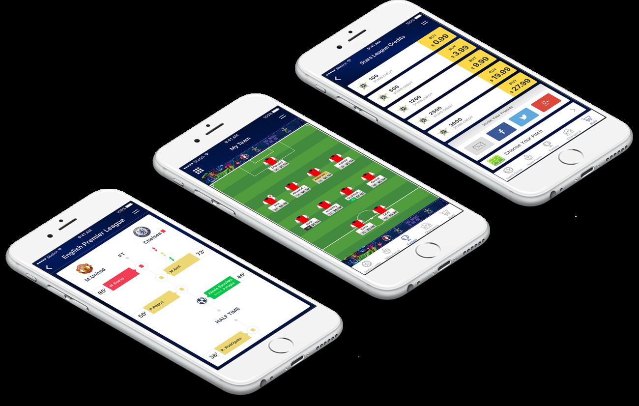 Qatar season Long Fantasy Soccer Website Design and Development by Vinfotech